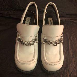 Steve Madden vintage loafer sling back shoes